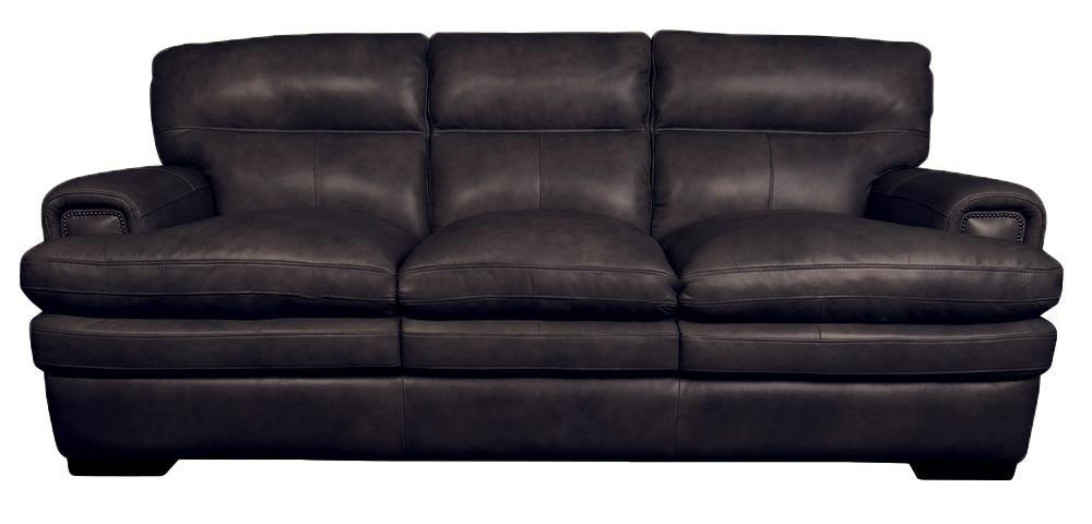 Leather Sofa La Z Boy Jake Top Grain 100 Leather Sofa By La Z Boy At Morris Home