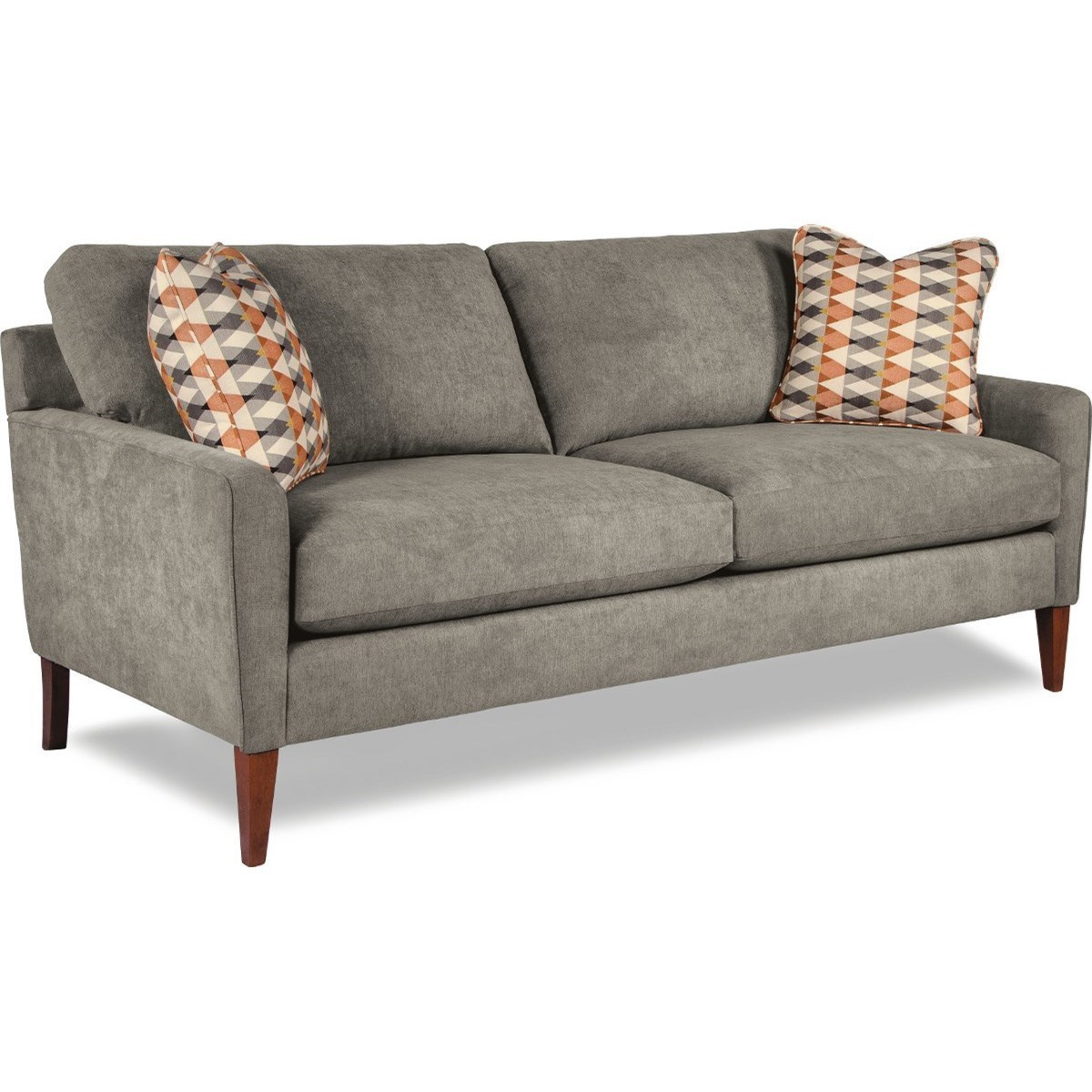 Modern Couch Mckinney Mid Century Modern Sofa By La Z Boy At Coconis Furniture Mattress 1st