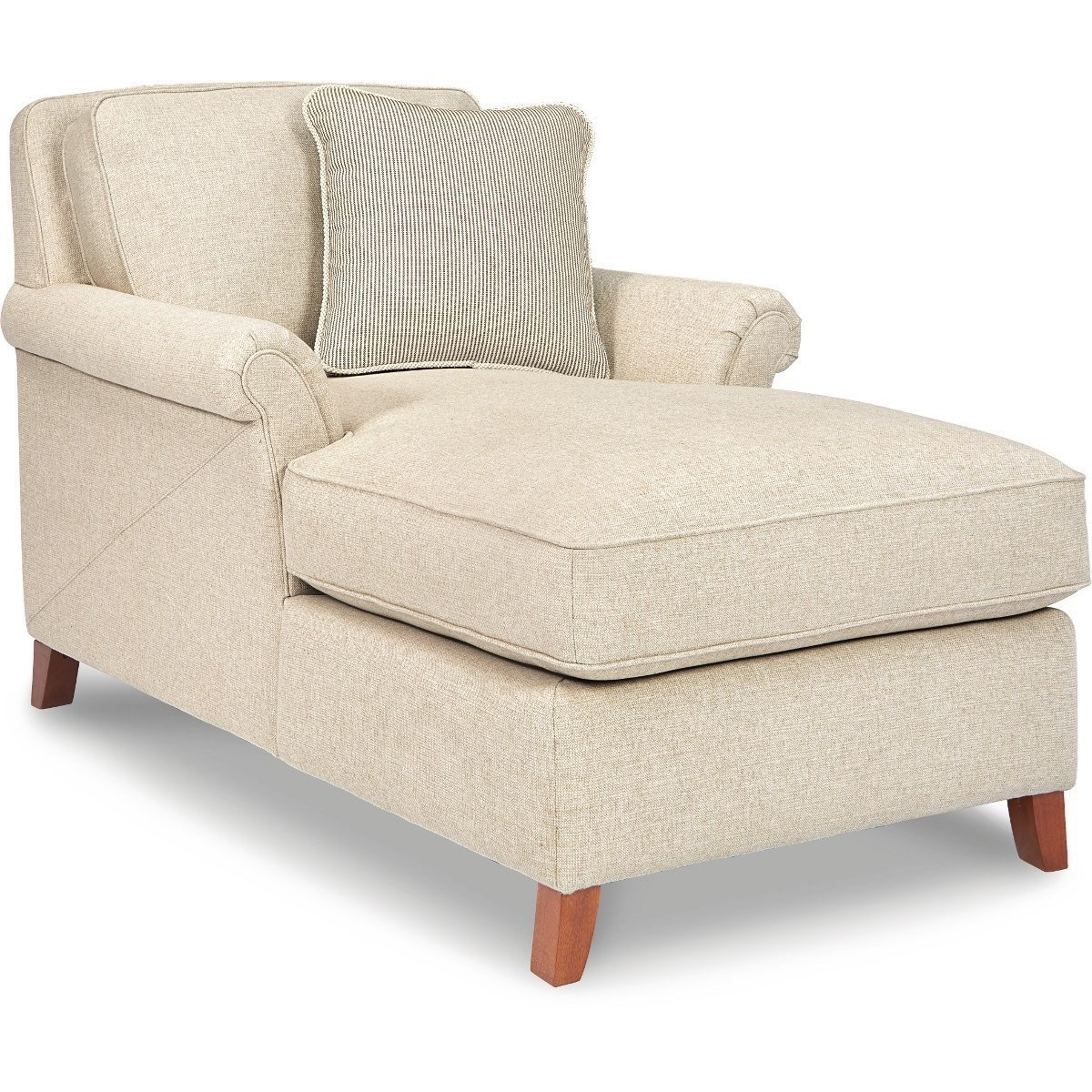 Chaise Z La Z Boy Phoebe Transitional Flared Arm Chaise Lounge Conlin S