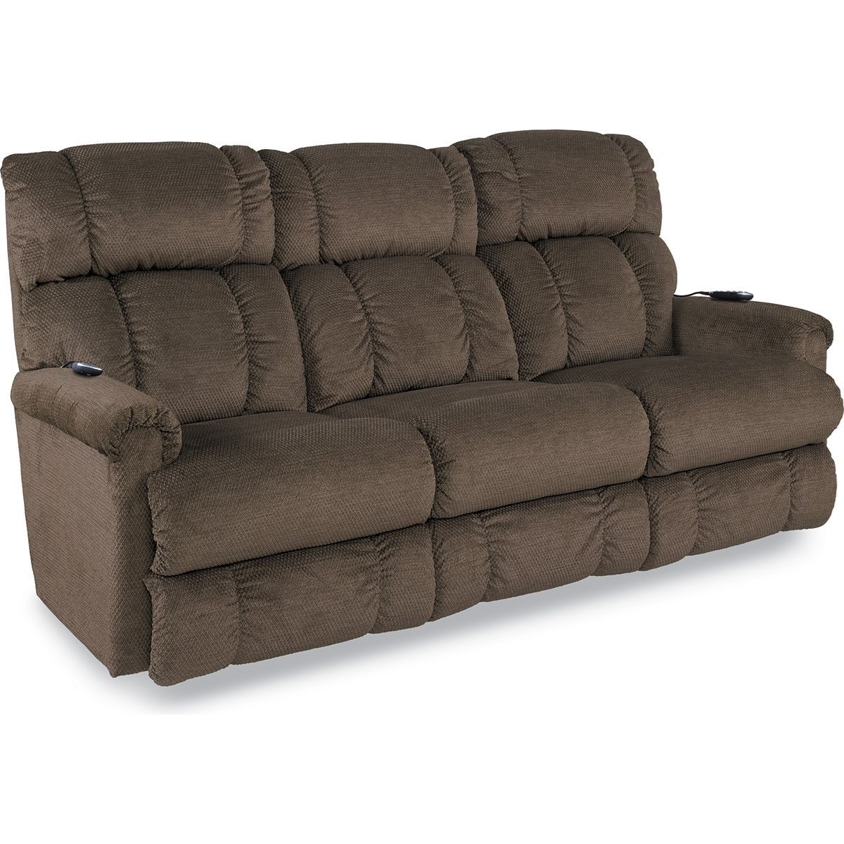 Leather Sofa La Z Boy Pinnacle Powerreclinexrw Wall Saver Reclining Sofa W Power Headrest Lumbar By La Z Boy At Novello Home Furnishings