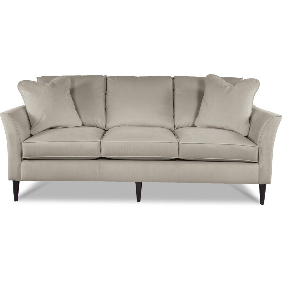 Contemporary Couch La Z Boy Violet Contemporary Sofa With Flared Arms And Comfortcore