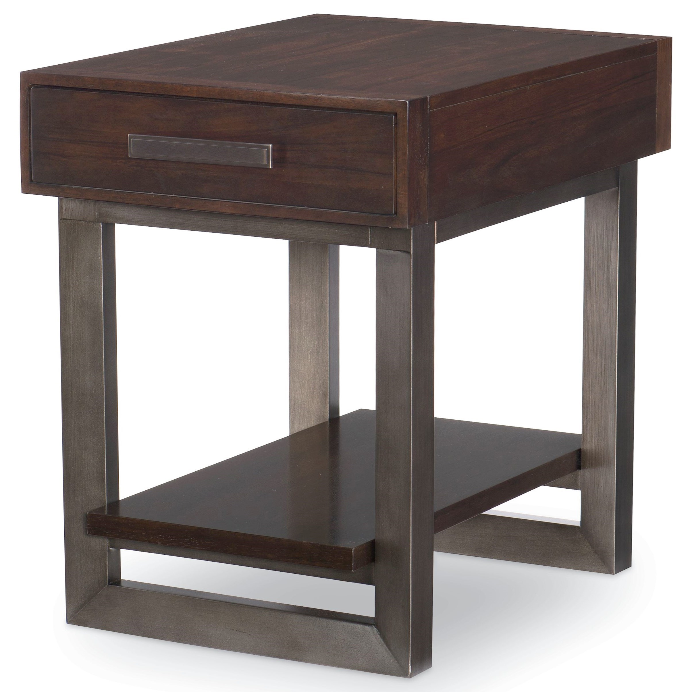 Classic Table Shapes Paldao Contemporary 1 Drawer End Table By Legacy Classic At Lindy S Furniture Company