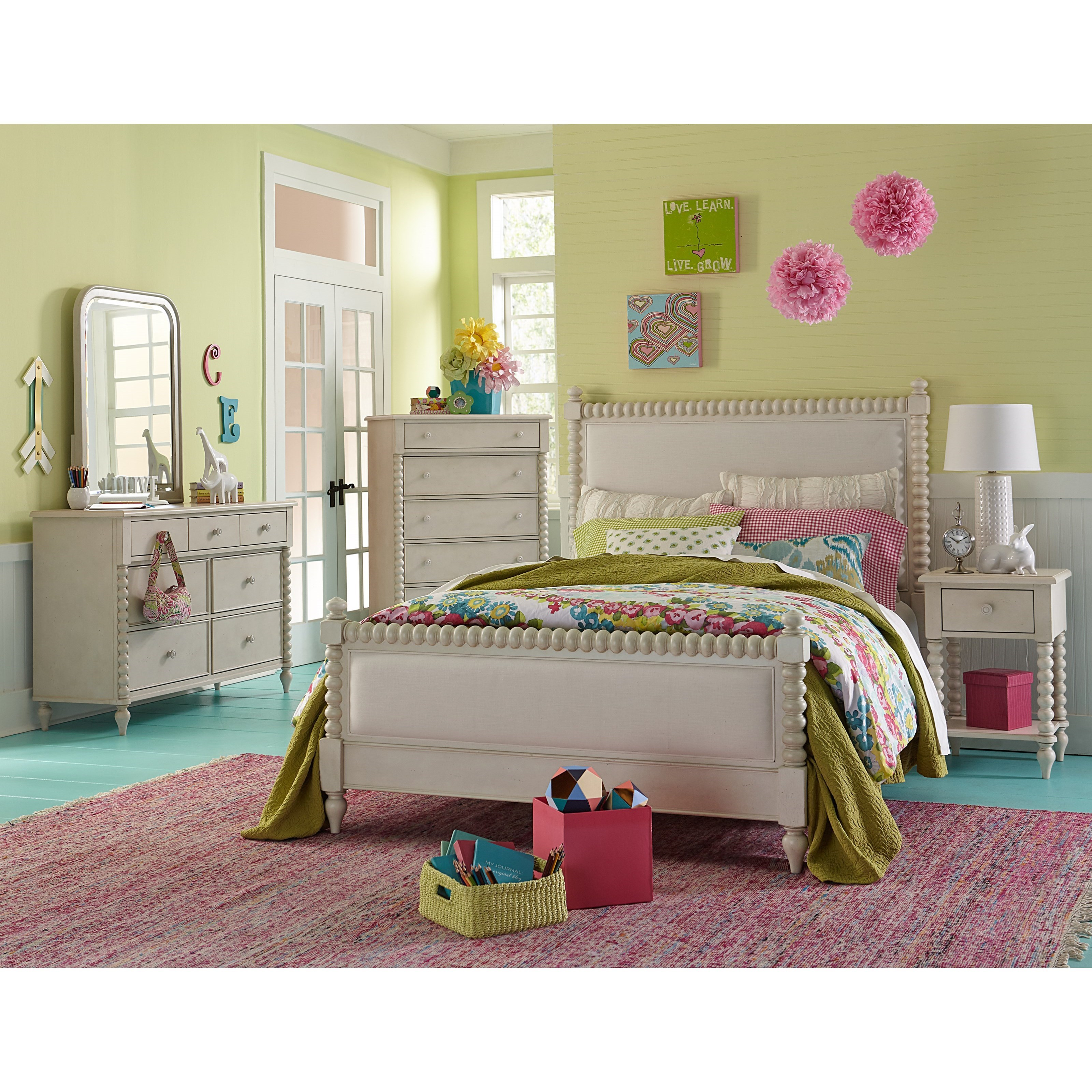 Kids Queen Bed Grace Queen Bedroom Group By Legacy Classic Kids At Dunk Bright Furniture