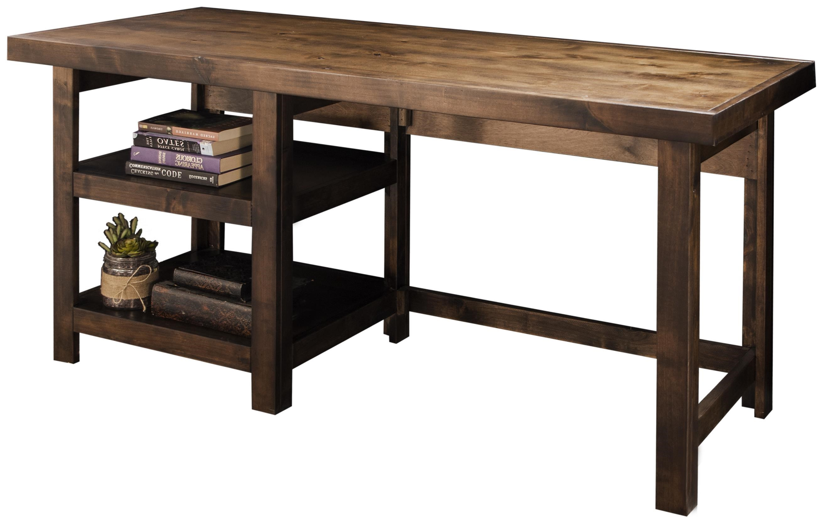 Workstation Furniture Sausalito Workstation With Two Open Shelves By Legends Furniture At Dunk Bright Furniture