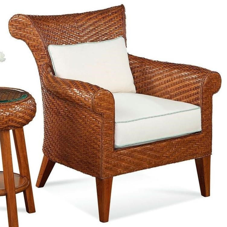 Rattan Chairs Laurel Wicker And Rattan Chair By Braxton Culler At Jacksonville Furniture Mart