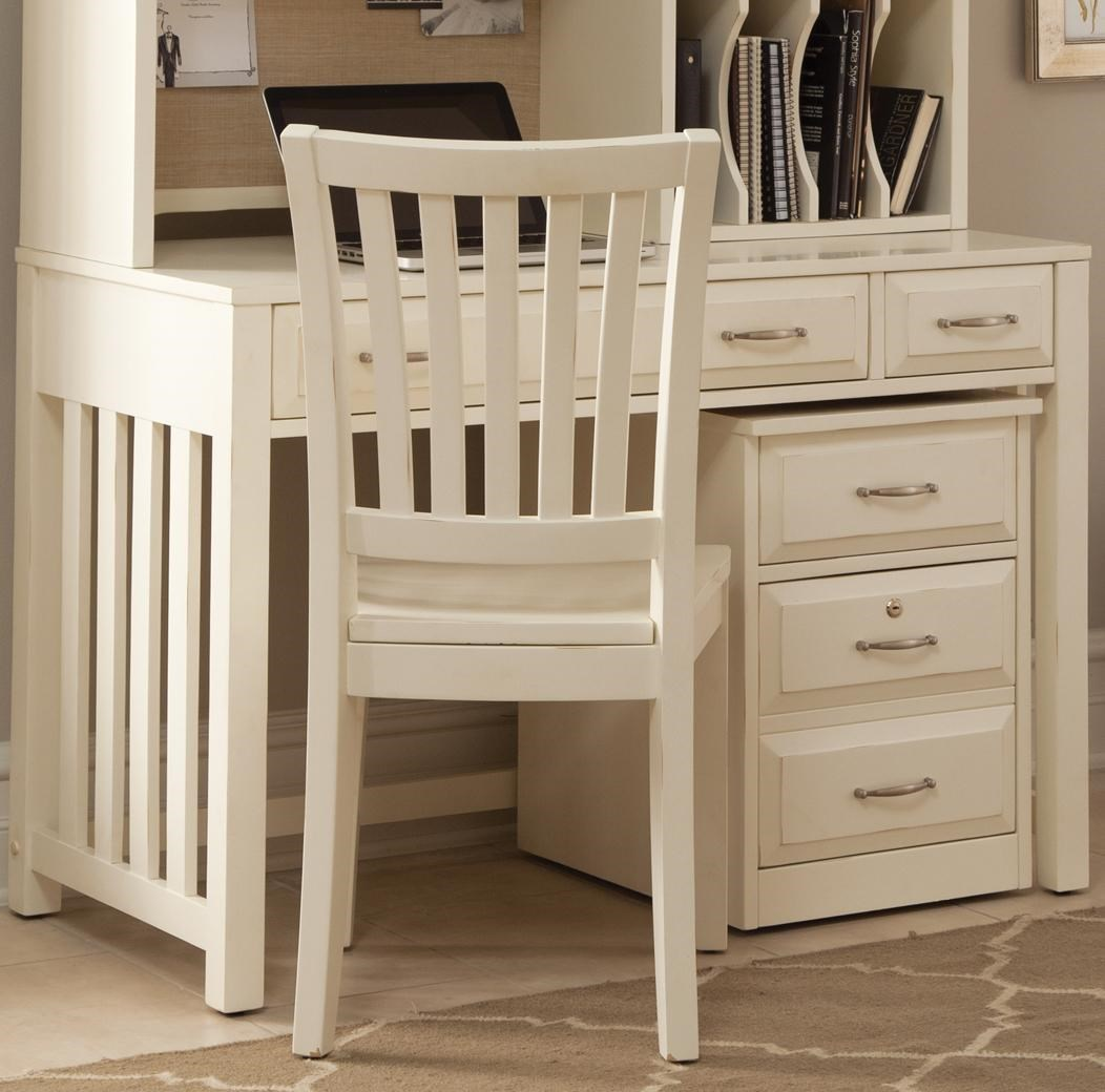 Desks With Drawers Hampton Bay White Writing Desk With Drawers By Liberty Furniture At Rotmans