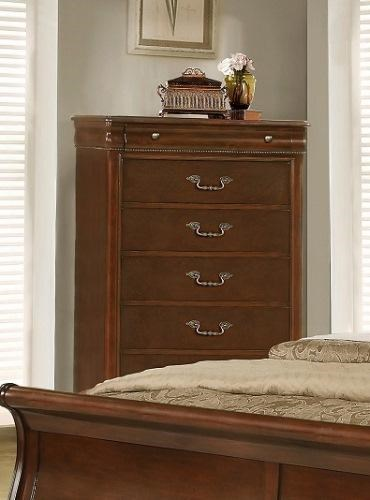 6 Drawer Chest Of Drawers 4116a Misk 6 Drawer Chest With Nailhead Accent By Lifestyle At Miskelly Furniture