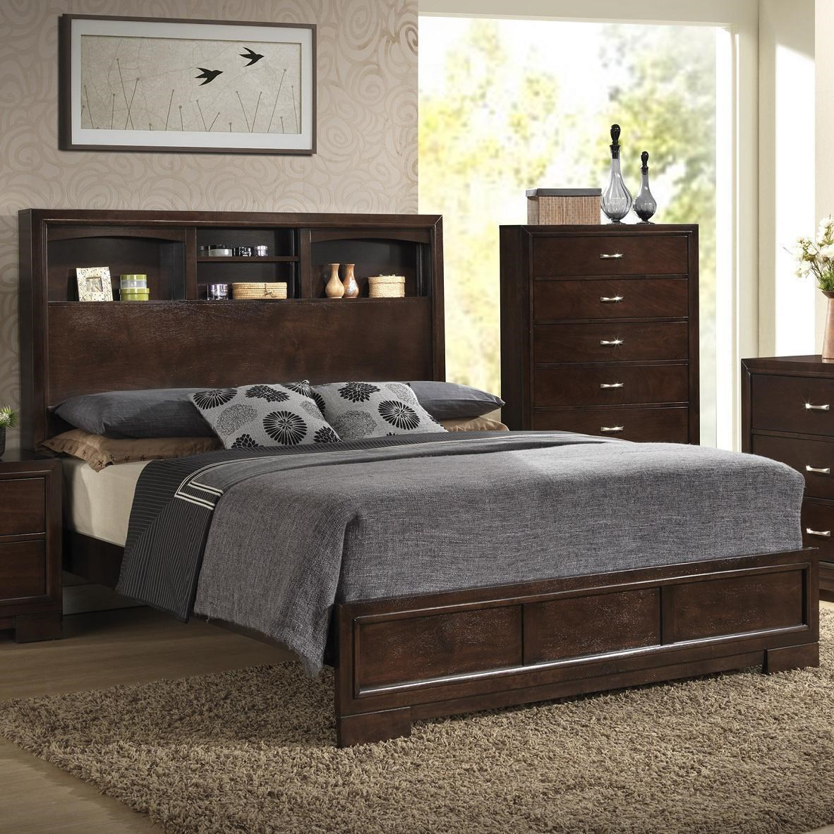 Bookcase Bed Bookie Contemporary Queen Bookcase Bed With 4 Shelves By Lifestyle At Royal Furniture