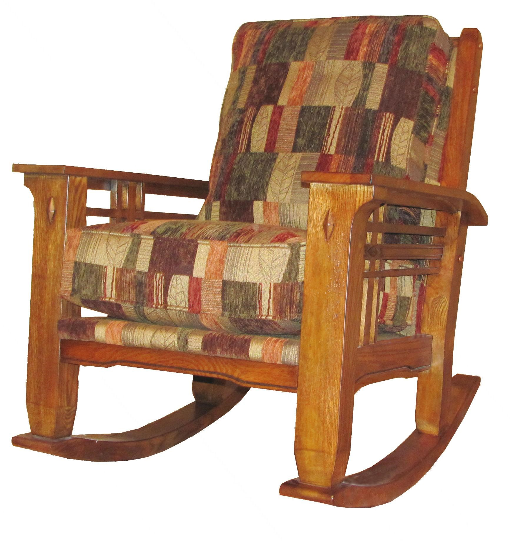 Wood Rocking Chair Talisan Rustic Country Rocker Chair By Marshfield At Conlin S Furniture