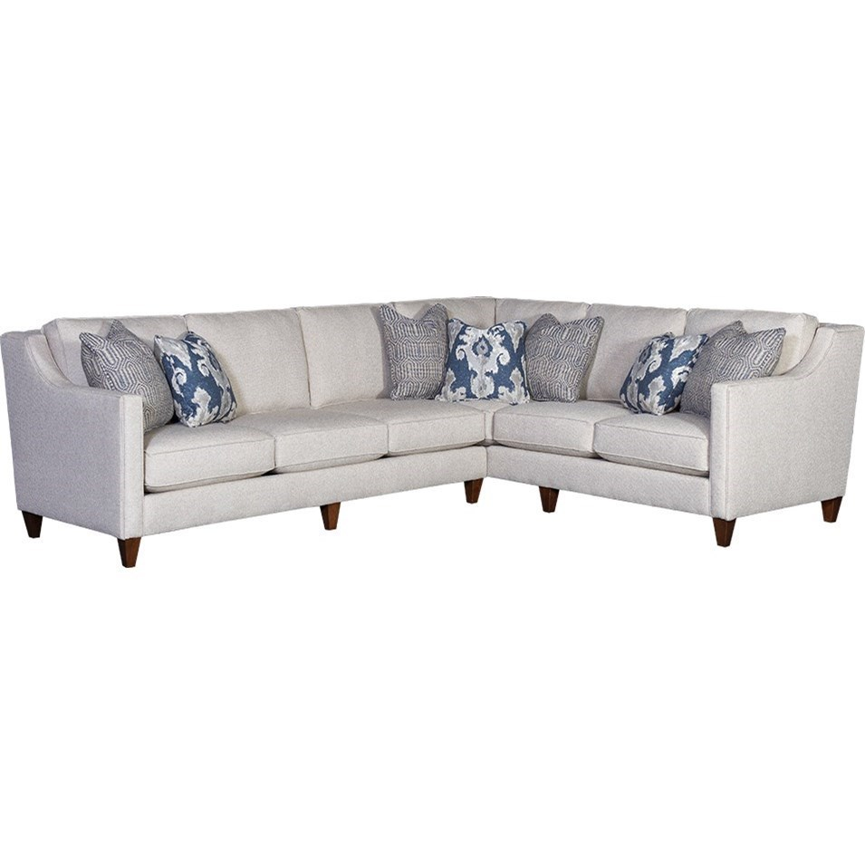Sectional Corner Couch Mayo 6170 Track Arm Sectional With Raf Corner Sofa Howell