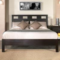 Modus International Nevis King Riva Platform Bed - Colder ...
