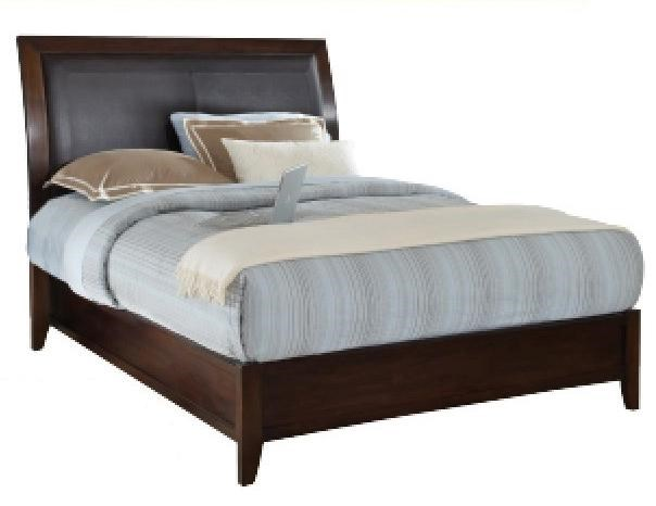 Sleigh Bed Headboard Modus International Urban Loft Contemporary King Sleigh Bed With