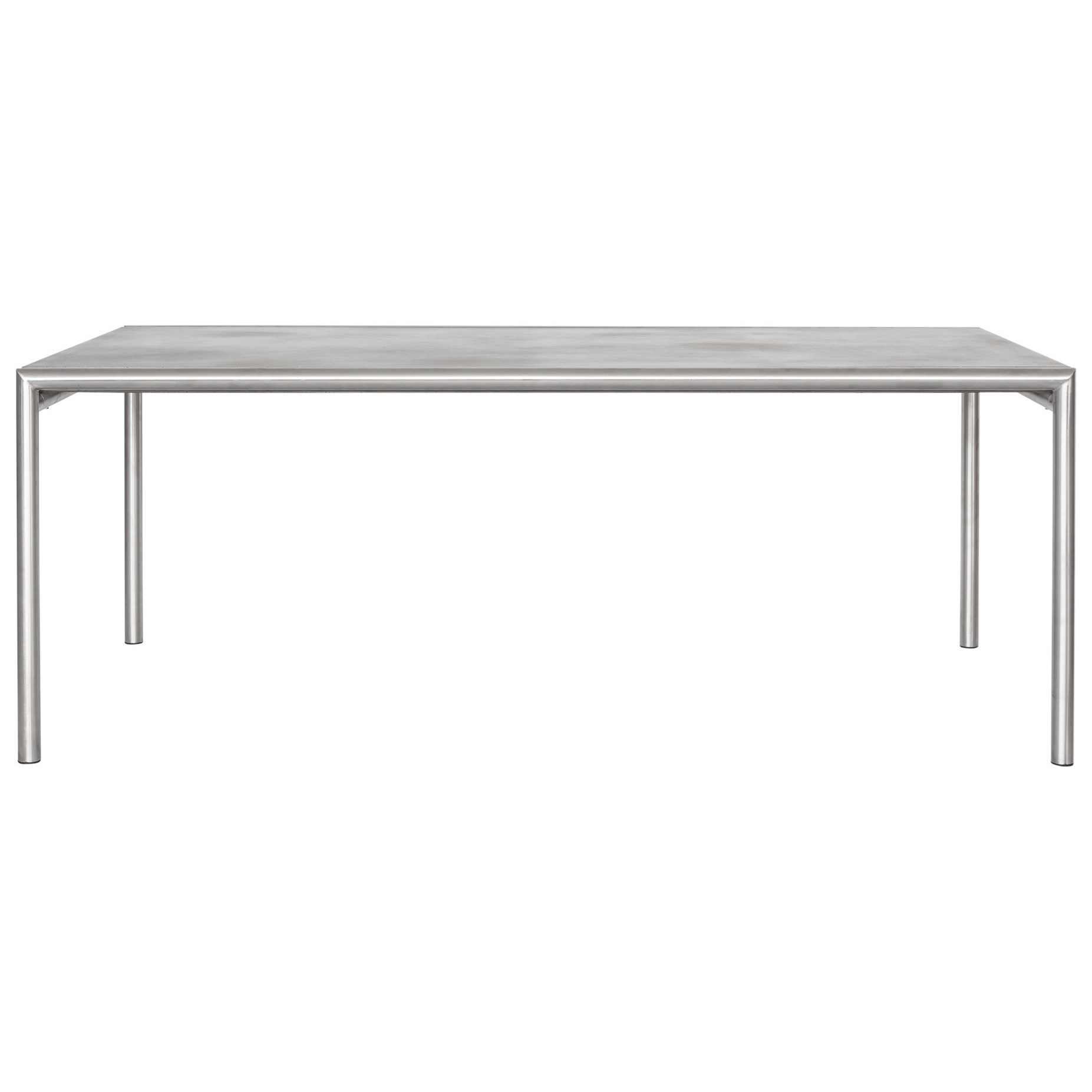 Table Bistrot Inox Moe S Home Collection Inox Contemporary Outdoor Dining Table