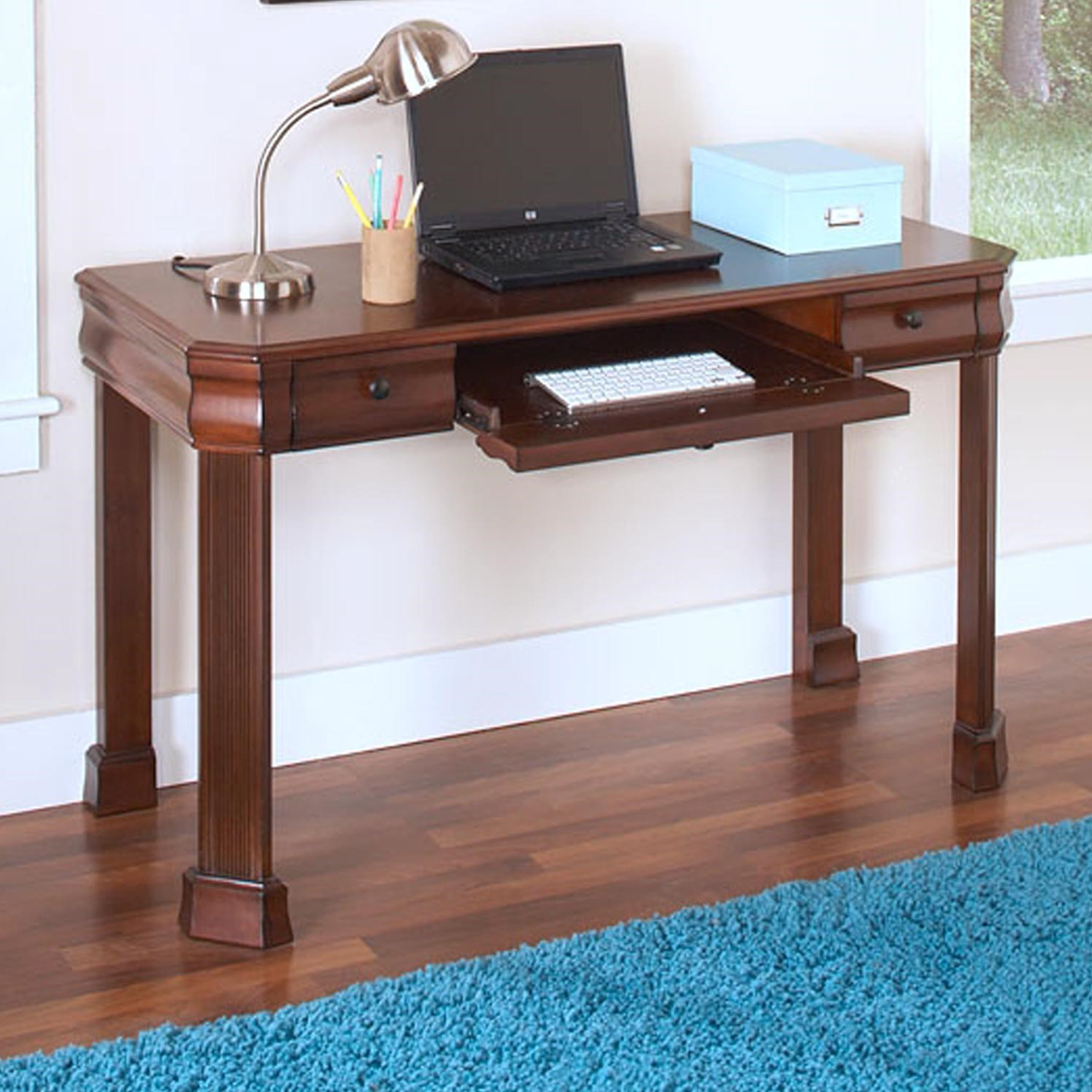 Classic Table Office Sheridan Youth Desk With Roll Out Keyboard Tray By New Classic At Dunk Bright Furniture