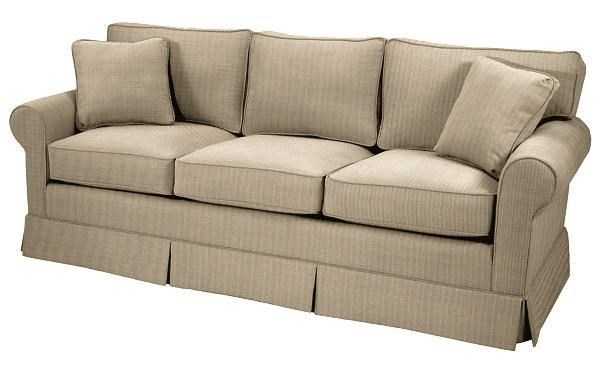 Square Sofa Copley Square Skirted Queen Sleeper Sofa By Norwalk At Dunk Bright Furniture