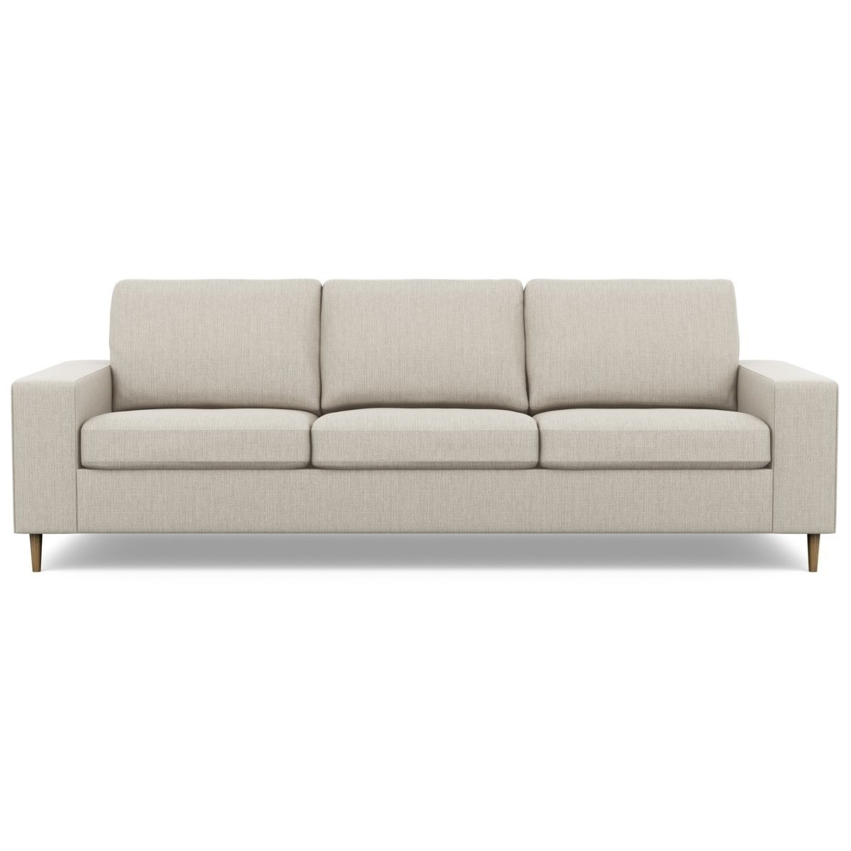 Palliser Inspirations Bello High Leg Contemporary Sofa With Wide Track Arms And High Legs Reeds Furniture Sofas