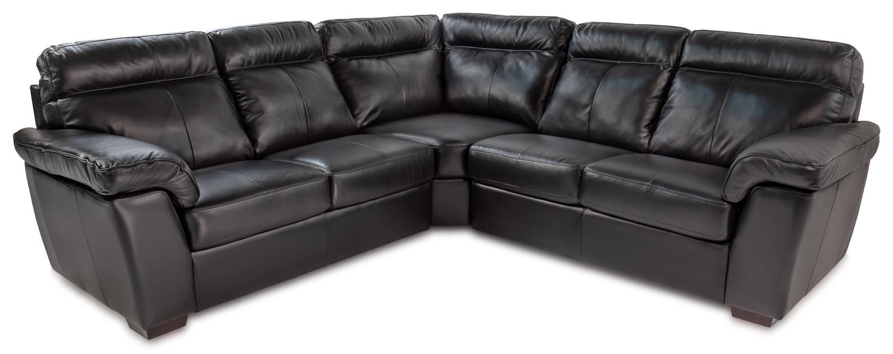 Sofas Online Valencia Valencia 3pc Leather Sectional Sofa W Pillow Arms By Palliser At Rotmans
