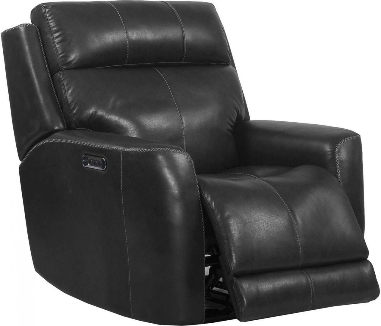 Electric Recliner Leather Chairs Pravin Leather Match Power Recliner With Power Headrest And Power Lumbar Support By Parker Scott At Morris Home