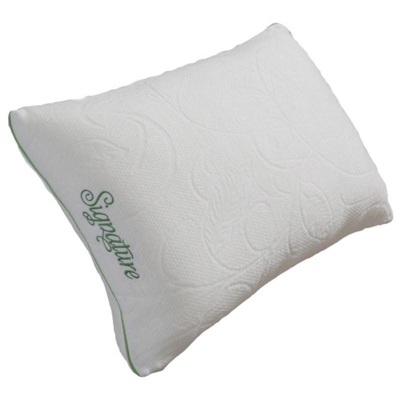 Firm Memory Foam Pillow Protect A Bed Signature Shredded Memory Foam Pillow Standard Size