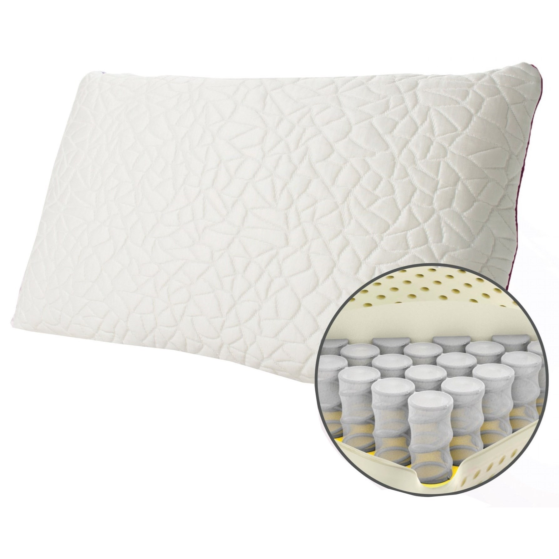 Firm Memory Foam Pillow Protect A Bed Snow Memory Foam Hybrid Pillow Queen Snow Memory