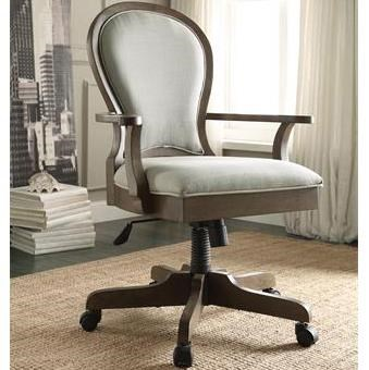 Desk Seat Belmeade Scroll Back Upholstered Desk Chair By Riverside Furniture At Prime Brothers Furniture