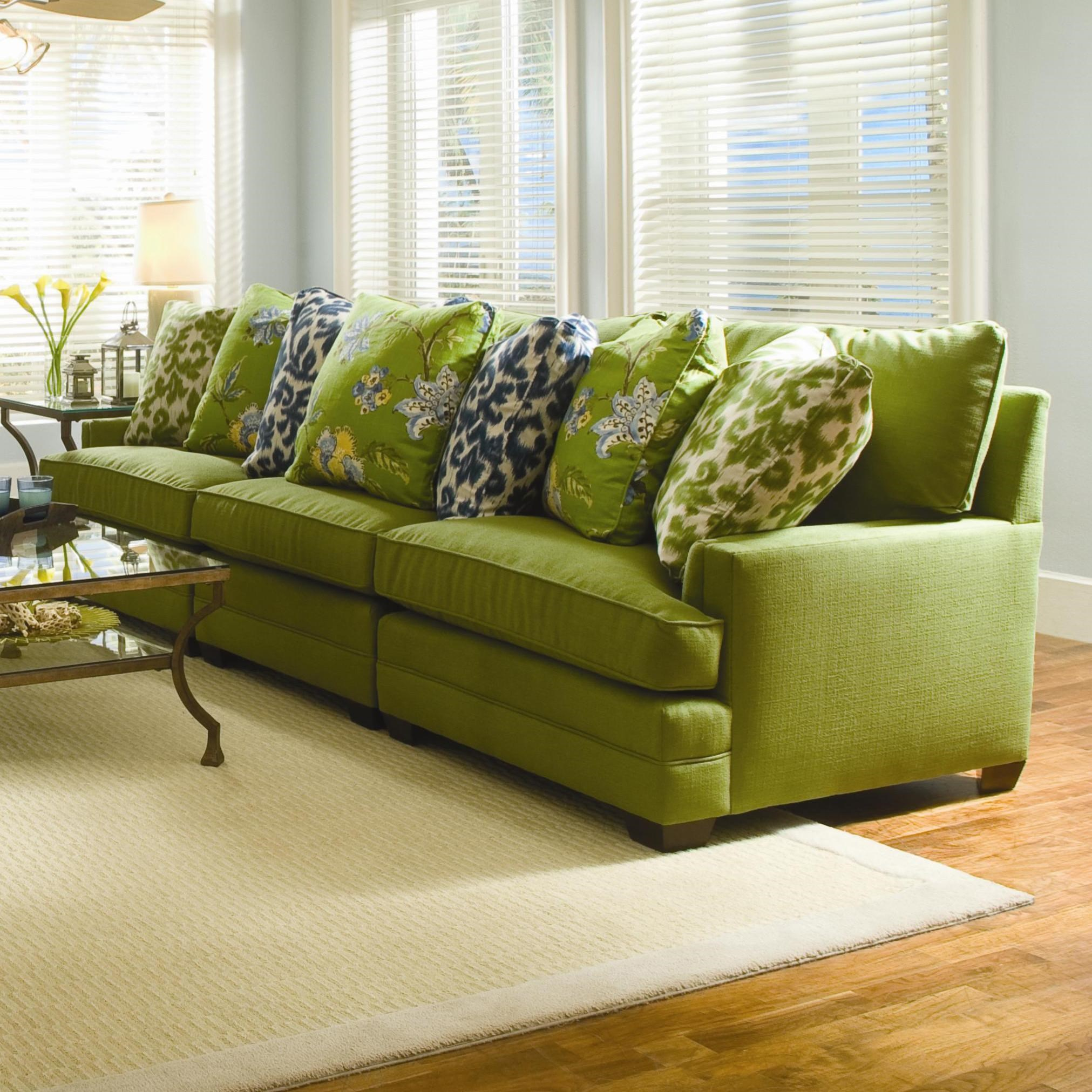 Sofa S Margo Extra Wide Sectional Sofa By Sam Moore At Dunk Bright Furniture