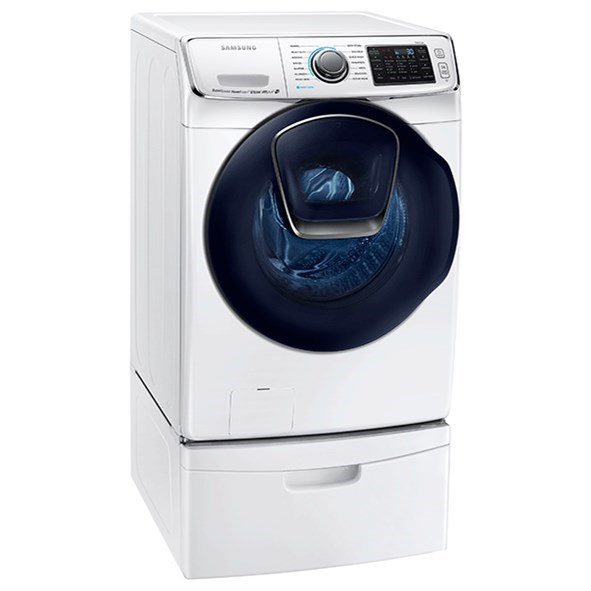 Samsung Front Load Washer Front Load Washers Samsung Wf7500 5 Cu Ft Addwash Front Load Washer By Samsung Appliances At Furniture And Appliancemart