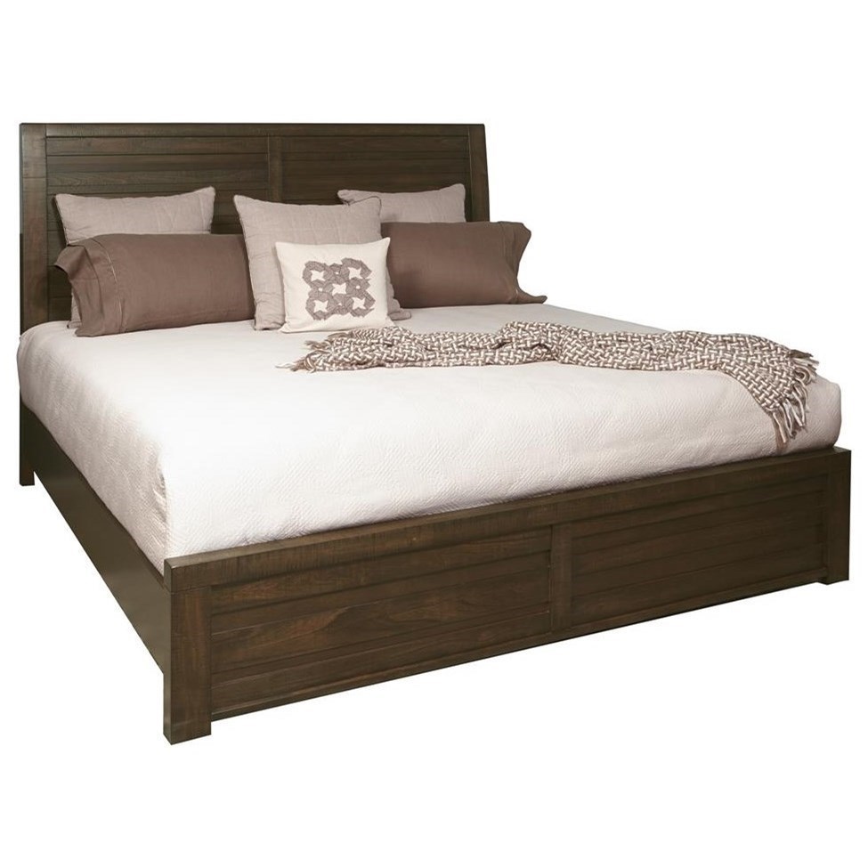 Queen Bed Frame Rutherford Queen Bed With Staggered Planking By Morris Home Furnishings At Morris Home