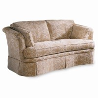 Sherrill Traditional Loose Back Cushion Sofa with Skirt ...