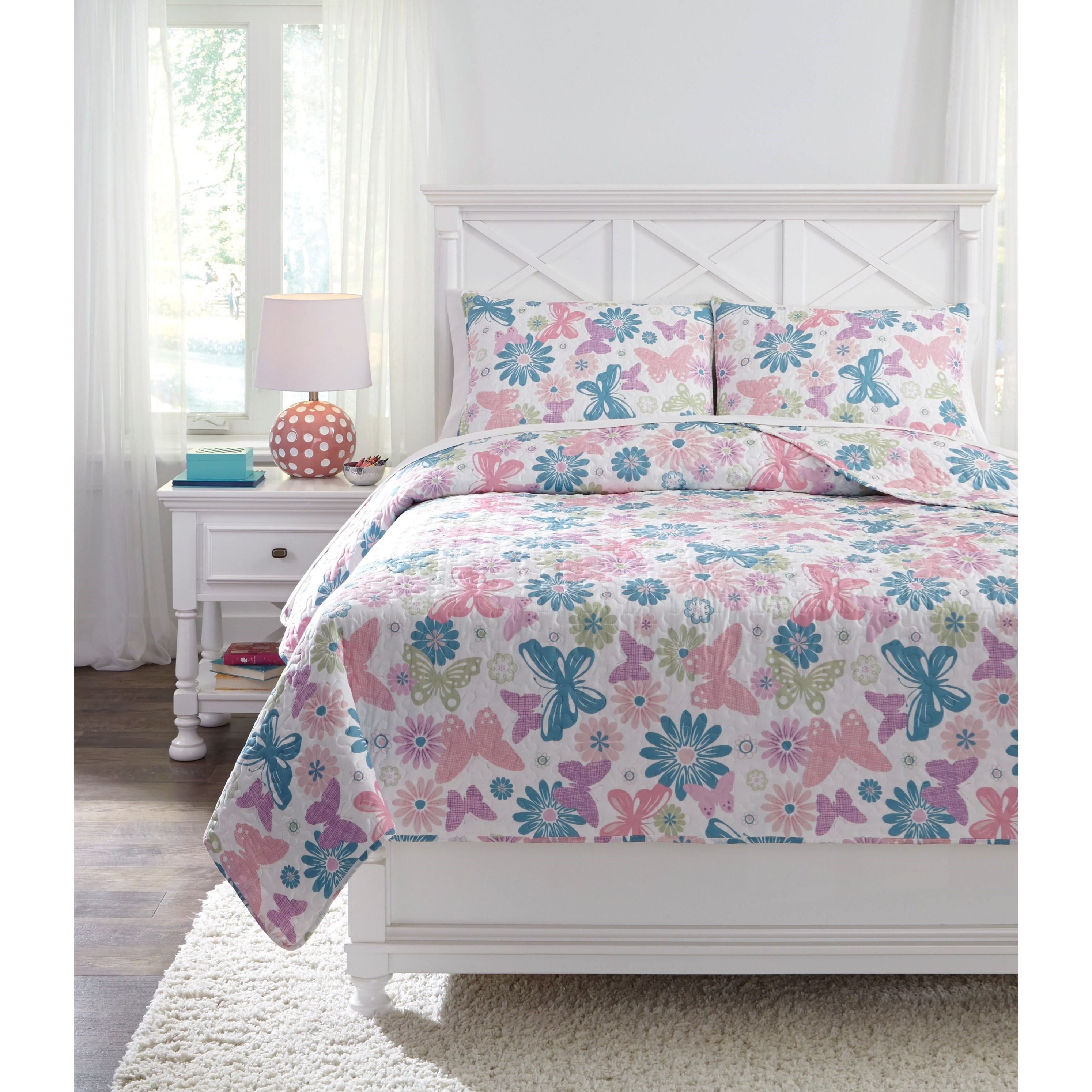 Quilt Sets Bedding Sets Full Jobeth Quilt Set By Trendz At Ruby Gordon Home