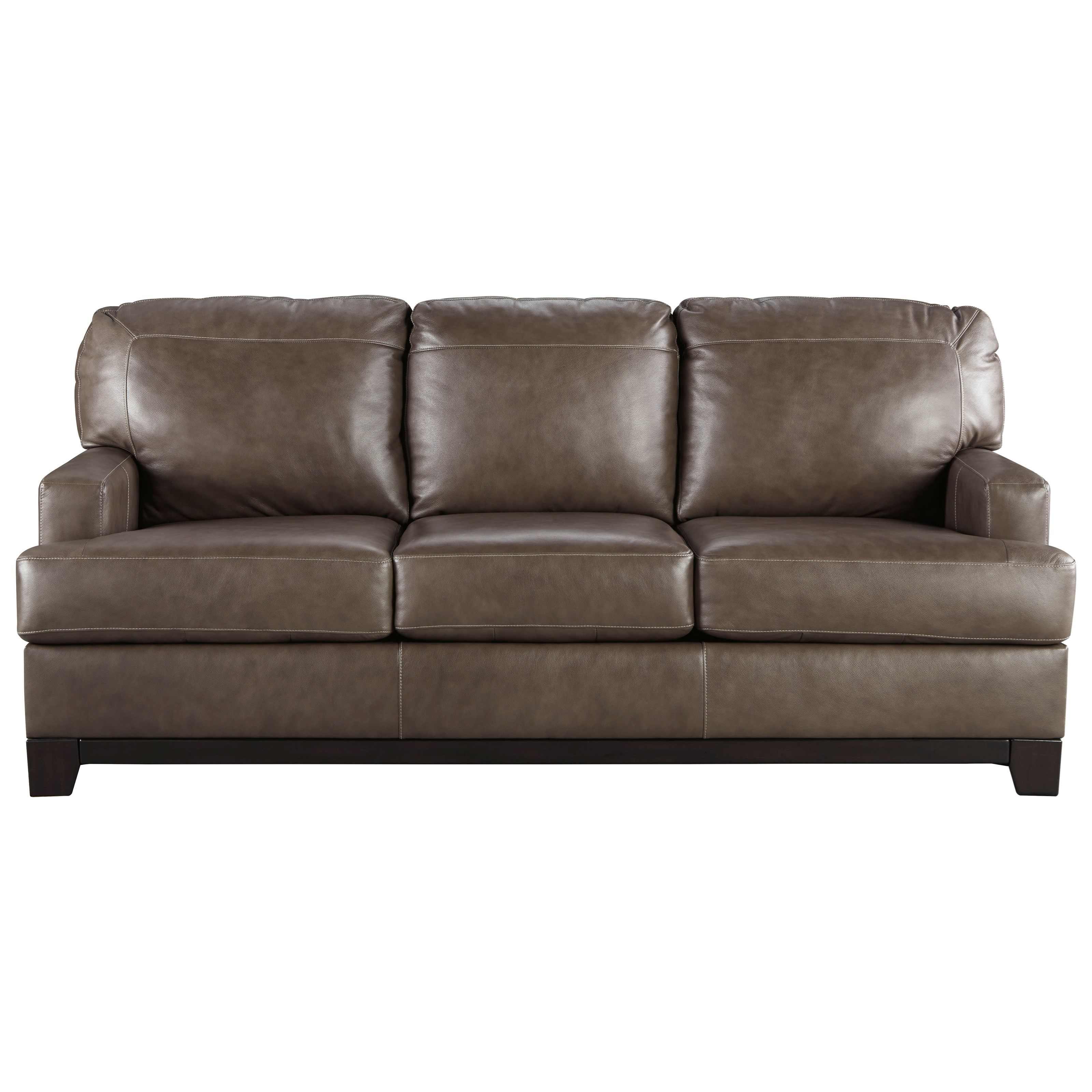 Queen Sofa Bed Derwood Contemporary Leather Match Queen Sofa Sleeper By Signature Design By Ashley At Rotmans