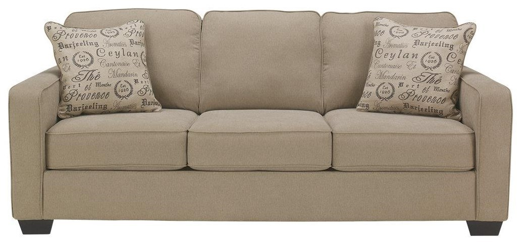 Sofa S Garner Upholstered Sofa With Accent Pillows By Morris Home At Morris Home