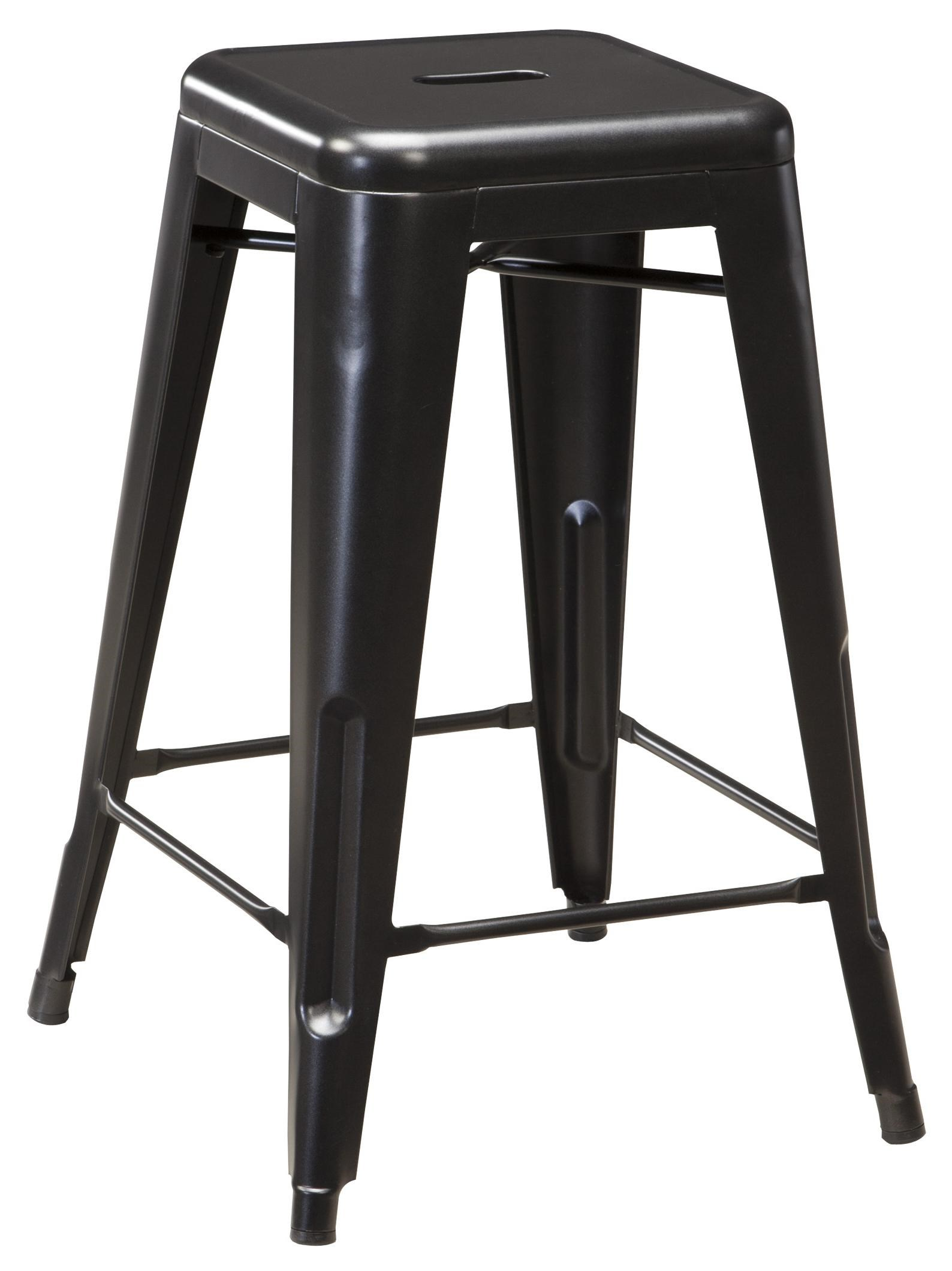 Metal Stools Pinnadel Retro Contemporary Metal Stool By Signature Design By Ashley At John V Schultz Furniture