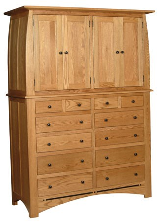 Bureau Dans Armoire Aspen Armoire On Bureau By Simply Amish At Becker Furniture World