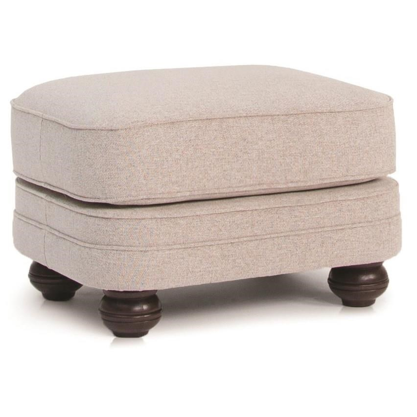 Ottoman Uses 311 Leather Ottoman By Smith Brothers At Turk Furniture