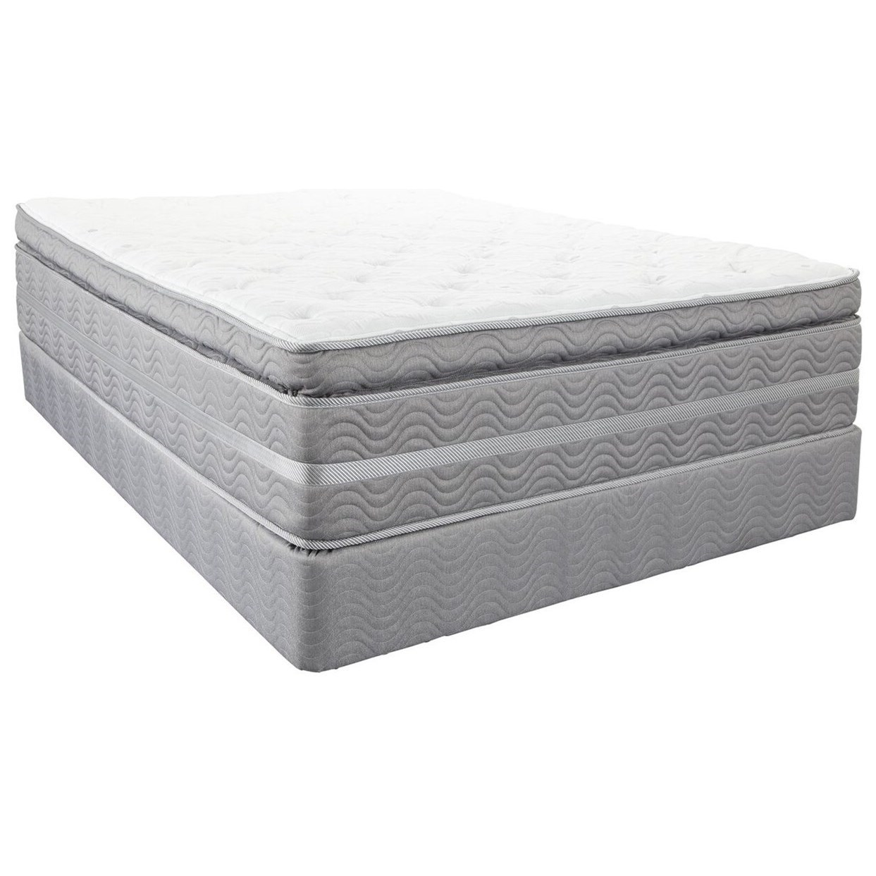 Pillow Top King Mattress Robertson King Super Pillow Top Mattress By Southerland At Royal Furniture