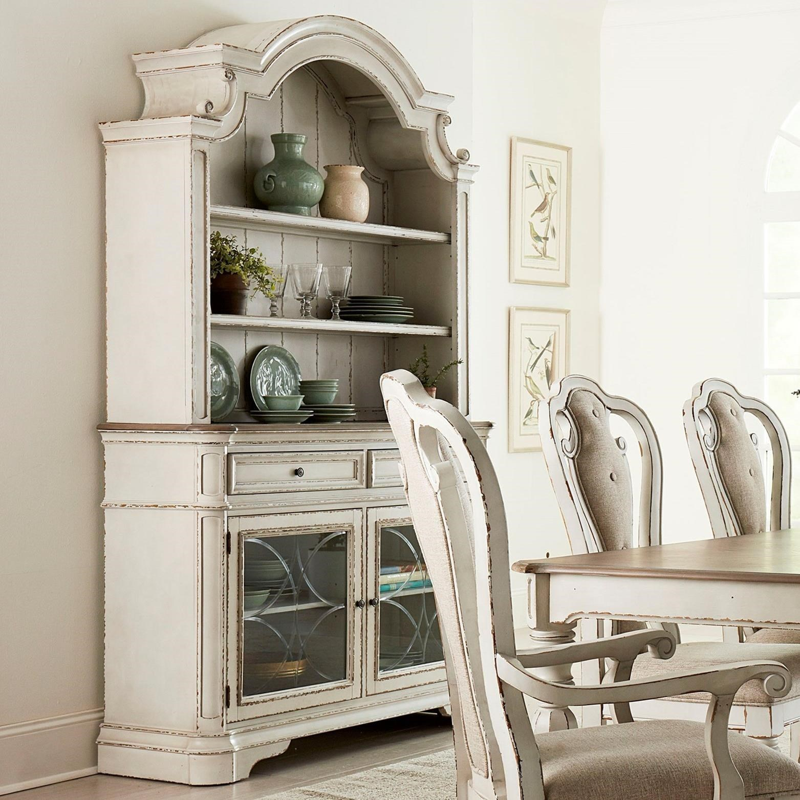 Dining Room Furniture Buffet Stevenson Manor Traditional Buffet And Hutch By Standard Furniture At Royal Furniture