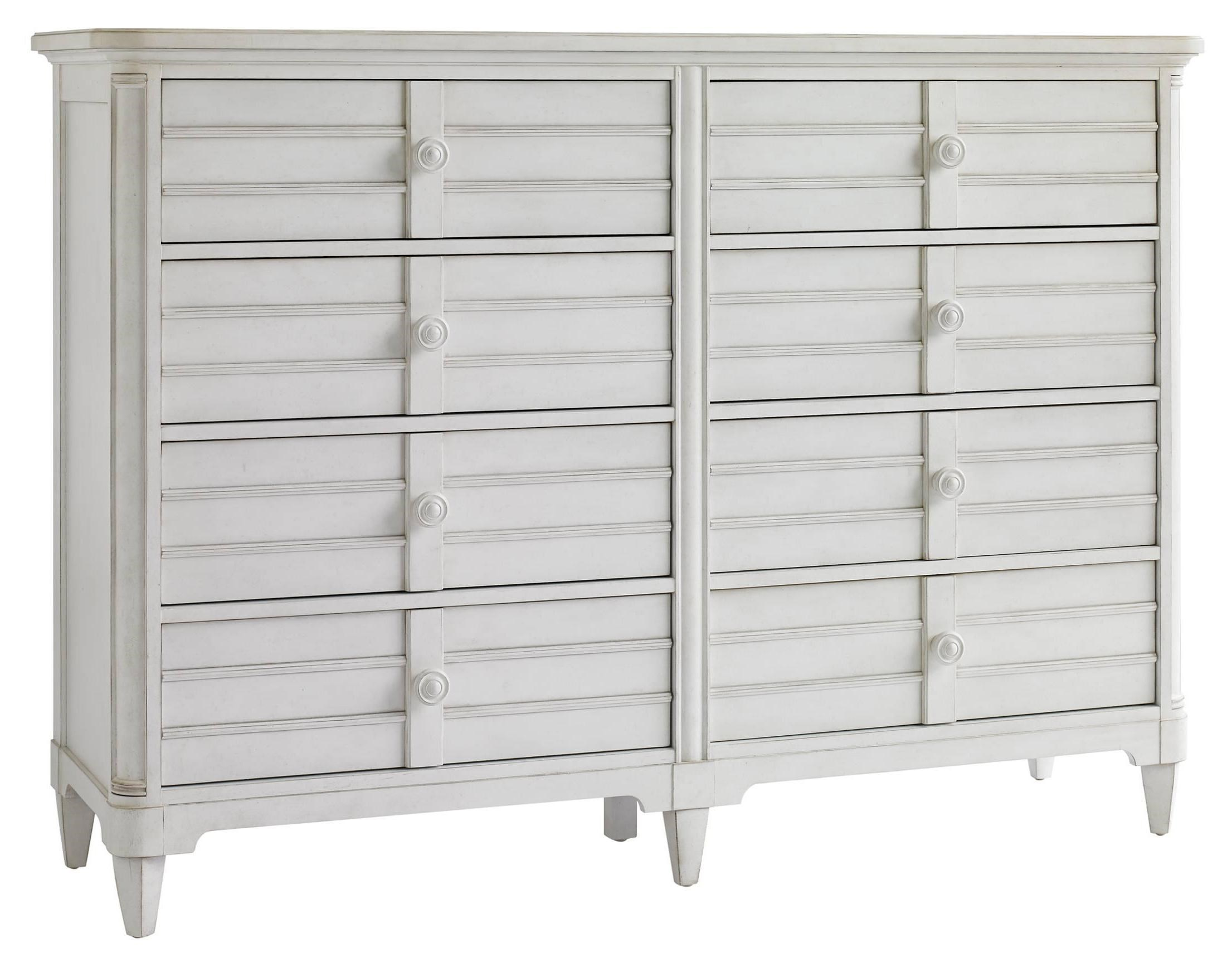 White 8 Drawer Dresser Cypress Grove 8 Drawer Cottage Style Dresser With Louvered Drawer Fronts By Stanley Furniture At Baer S Furniture