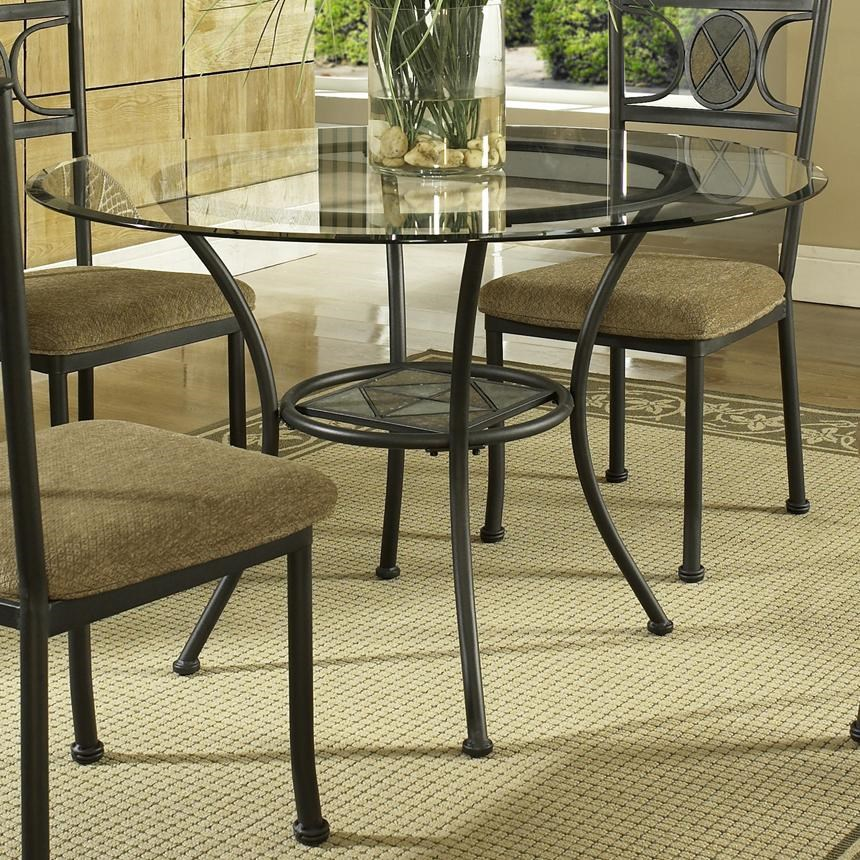 Round Glass Top Dining Table Carolyn Single Pedestal Round Glass Top Dining Table Morris Home