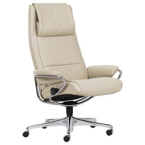Stressless Sessel Paris High Back Stressless Paris High Back Office Chair Rotmans Office Task Chairs