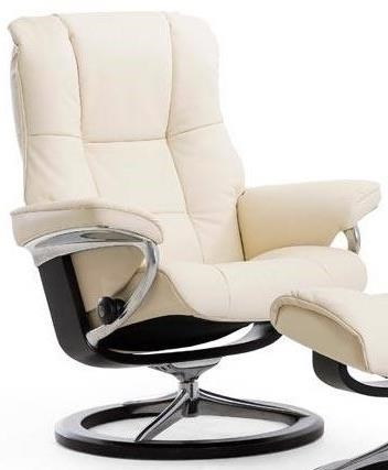 Stresless Mayfair Large Reclining Chair With Signature Base By Stressless At Dunk Bright Furniture