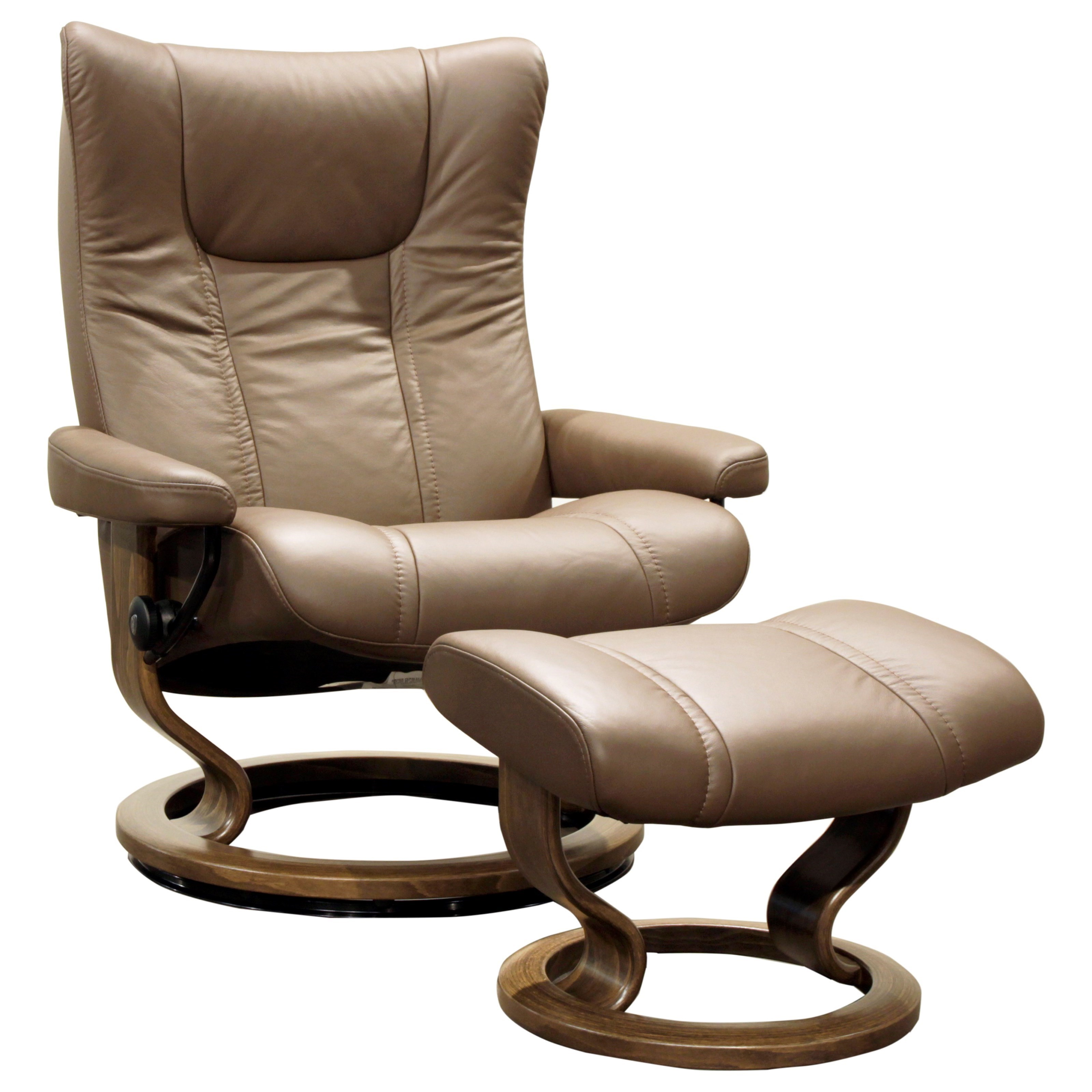 Stressless-world.com Wing Large Stressless Chair Ottoman By Stressless At Homeworld Furniture