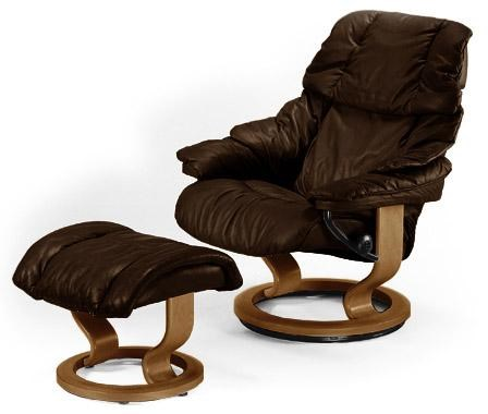 Stressless You Sessel Reno Reno Recliner Ottoman Paloma Chocolate Teak By Stressless At Rotmans