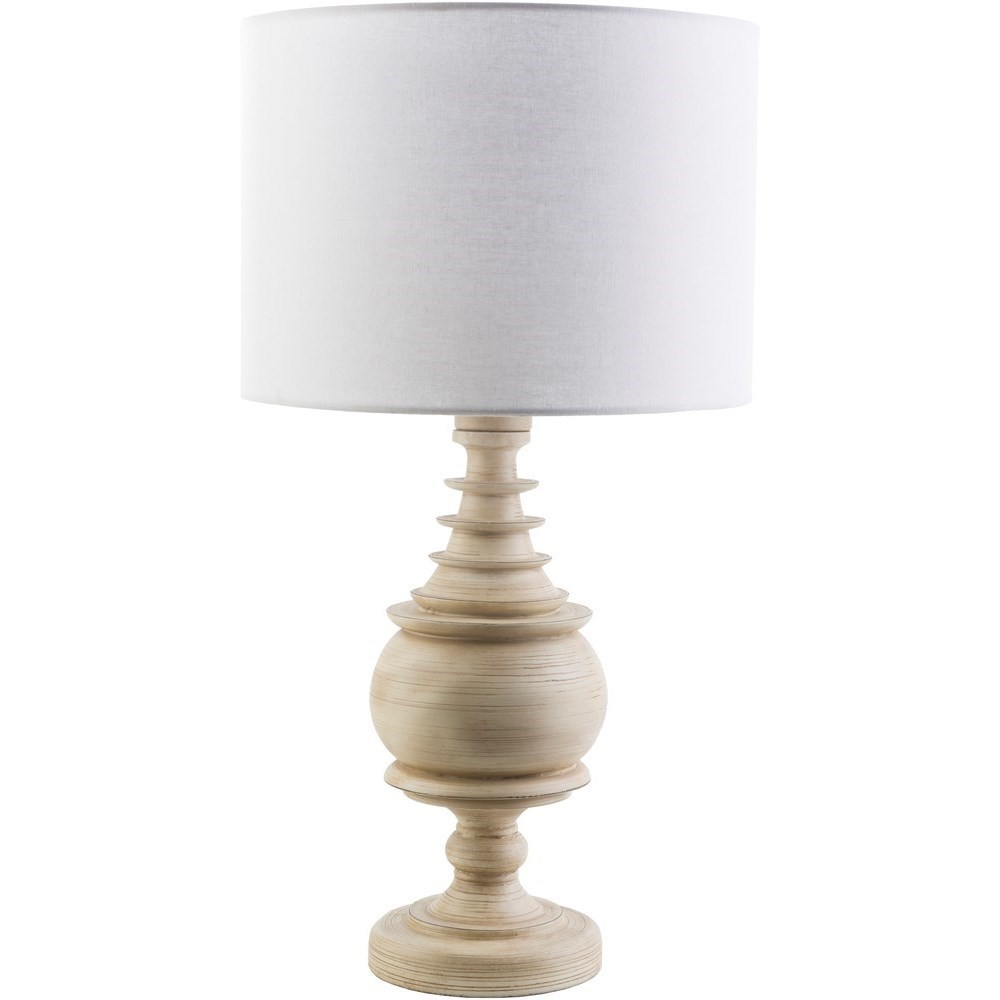 Coastal Lamps Surya Acacia Acc562 Tbl Antique White Coastal Table Lamp Coconis