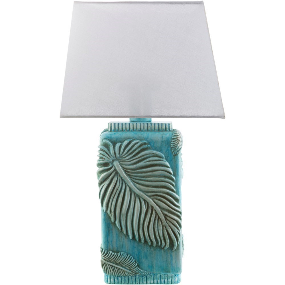 Coastal Lamps Surya Lana Aqua Coastal Table Lamp Rooms For Less Table Lamps