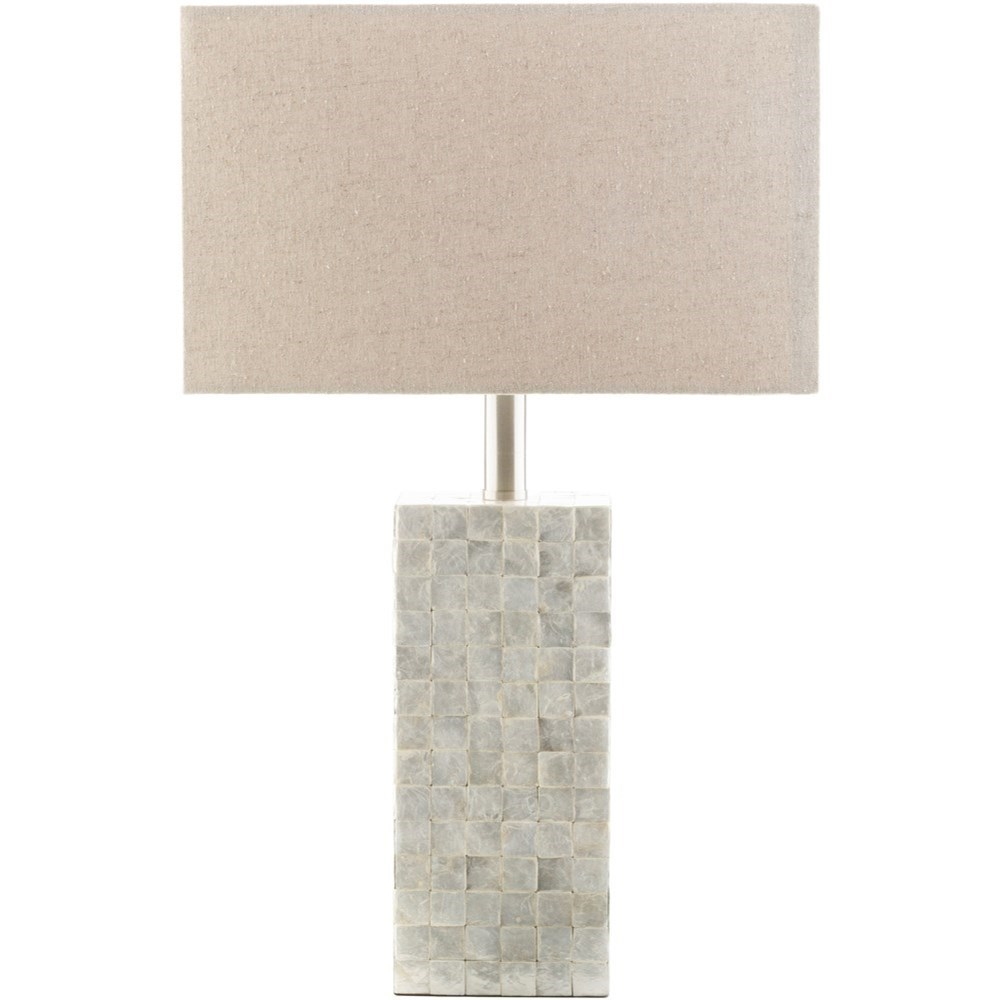 Coastal Lamps Landon Cream Coastal Table Lamp By Surya At Royal Furniture