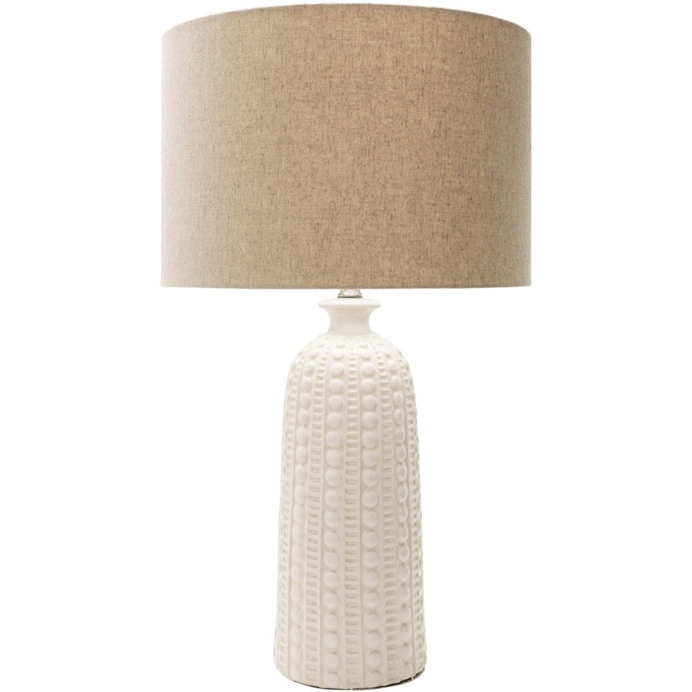 Coastal Lamps Newell Glazed Coastal Table Lamp By Surya At John V Schultz Furniture
