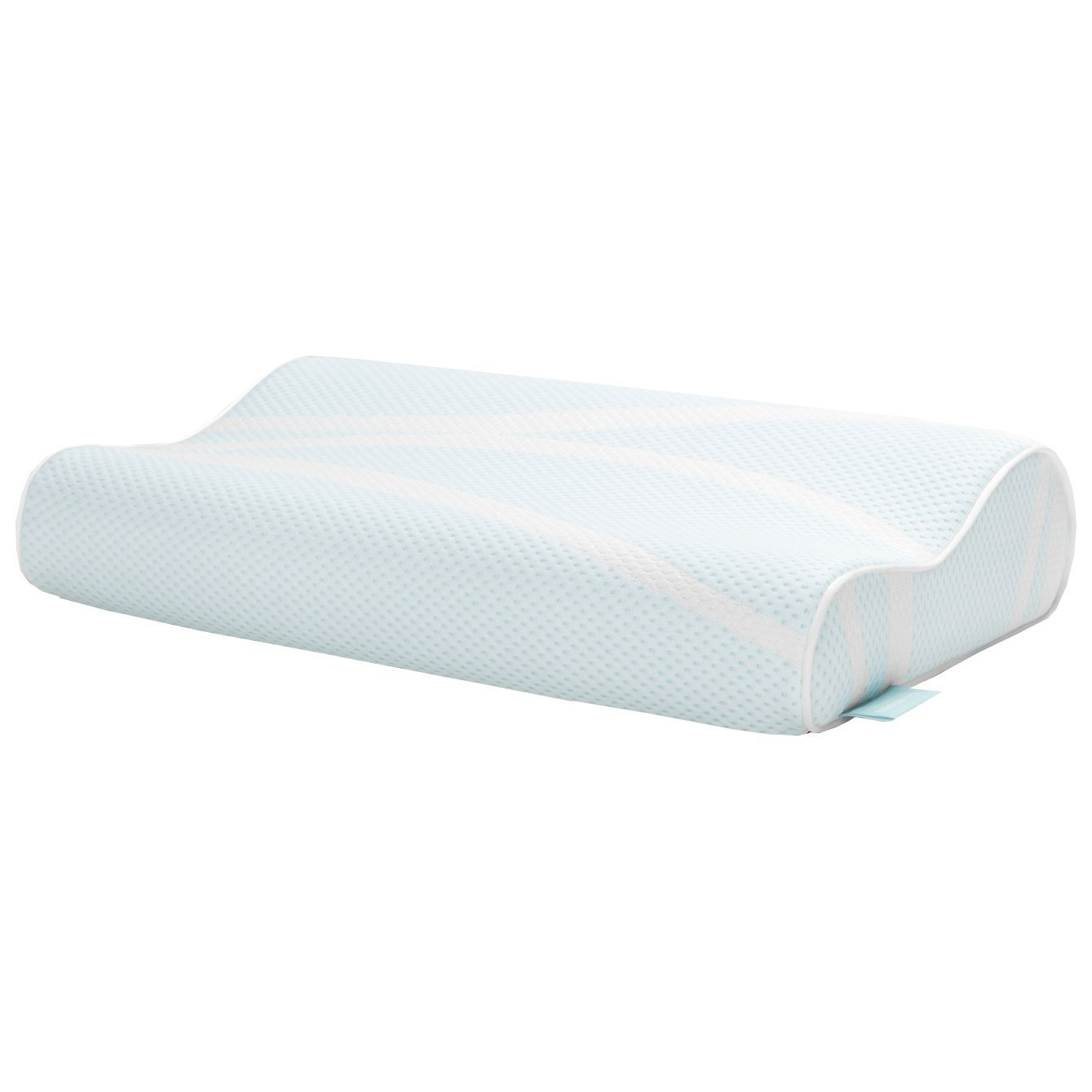 How To Use Tempurpedic Neck Pillow Breeze Pillow Breeze Neck Advanced Cooling Standard Medium Pillow By Tempur Pedic At John V Schultz Furniture