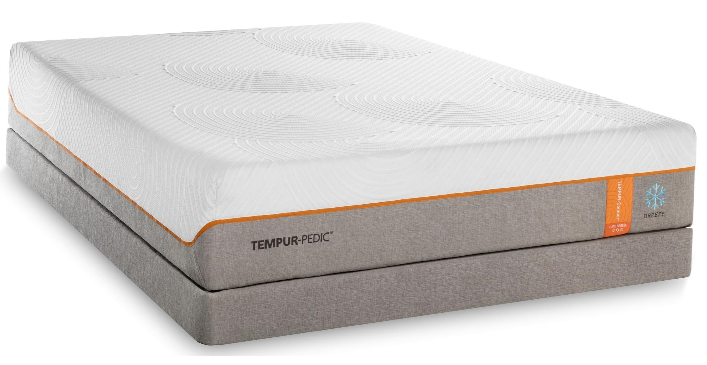 Mattress Firm Cincinnati Tempur Pedic Tempur Contour Elite Breeze King Medium Firm