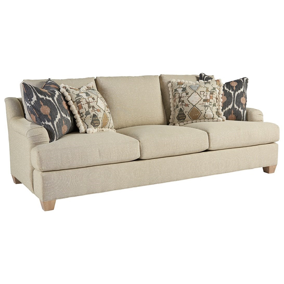 Barlow White Leather Sofa And Loveseat Set Tommy Bahama Home Los Altos 1842 33 Barton Transitional Sofa